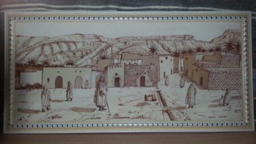 """Painting titled """"15301230-1612031809…"""" by Miloud Tounsi, Original Art, Other"""