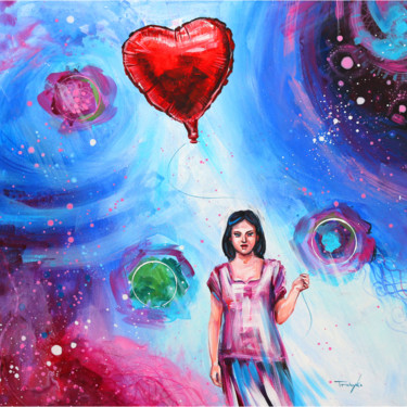 """Painting titled """"Universe of Love 
