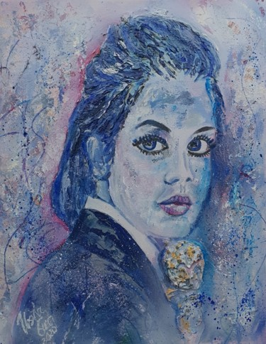 """Painting titled """"Charlotte"""" by Ursula Gnech, Original Art, Acrylic"""