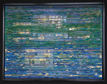 Seascape Collages, collages, abstract, artwork by Eric Goldstein