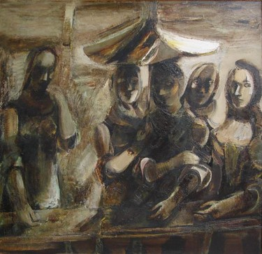 45.7x47.2 in ©1981 by Karo Mkrtchyan