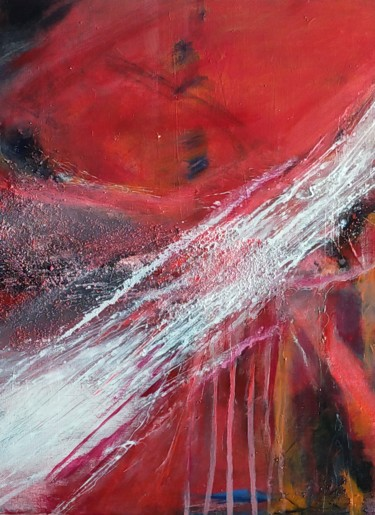 Nature Painting, acrylic, abstract, artwork by Valemi