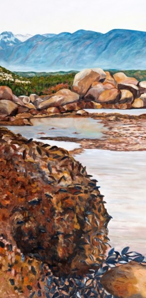 48x24x1 in ©2011 by Valérie Fitzpatrick