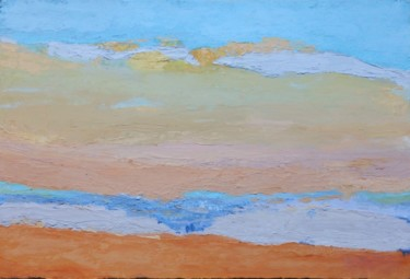 """Painting titled """"SunShine"""" by Valérie Pastel, Original Art, Oil"""