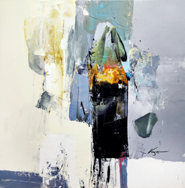 Abstract Painting, acrylic, abstract, artwork by Vasil Vasilev