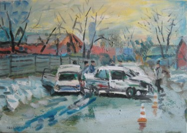 """Painting titled """"accident 2"""" by Vasyl, Original Art,"""