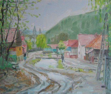 """Painting titled """"EARLY SPRING"""" by Vasyl, Original Art,"""