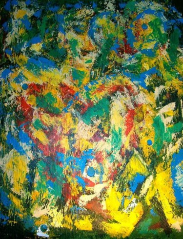 """Painting titled """"Pulse"""" by Vcasey, Original Art,"""
