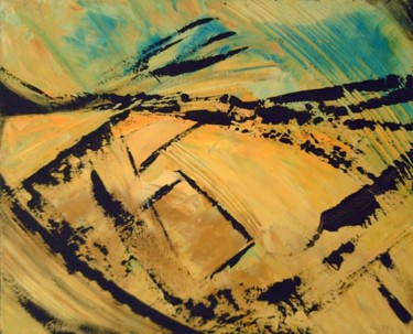 """Painting titled """"Dune"""" by Vcasey, Original Art,"""
