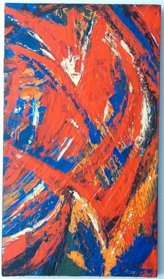 """Painting titled """"wings"""" by Vcasey, Original Art,"""
