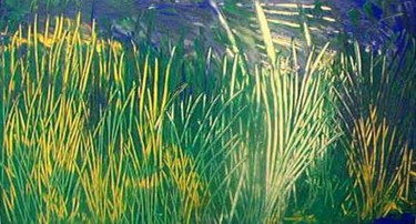 """Painting titled """"reeds"""" by Vcasey, Original Art,"""