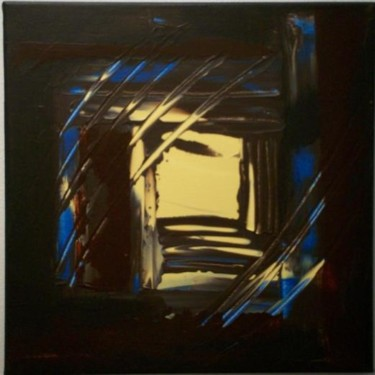 """Painting titled """"hiver"""" by Vcasey, Original Art,"""