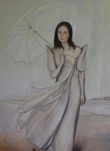 Painting, oil, figurative, artwork by Marie Expert