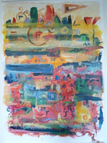 59.5x39.4 in ©2010 by Véronique Kaplan