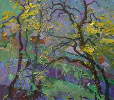 """Painting titled """"Spring rampage"""" by Victor Onyshchenko, Original Art, Oil"""