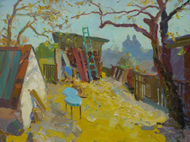 """Painting titled """"Nook and cranny. Au…"""" by Victor Onyshchenko, Original Art, Oil"""