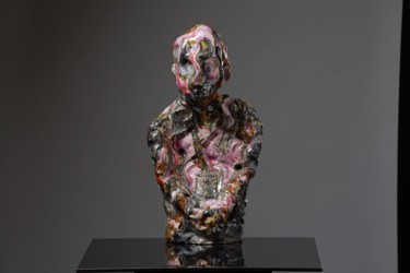 Sculpture, clay, abstract, artwork by Victor Prodanchuk