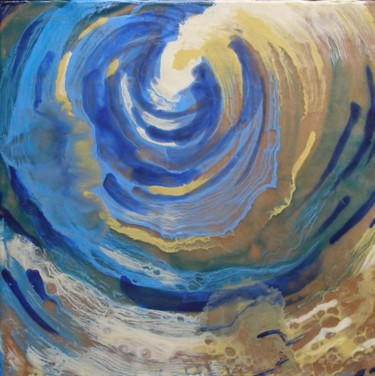 """Painting titled """"Vortex"""" by Victoria Wallace, Original Art,"""