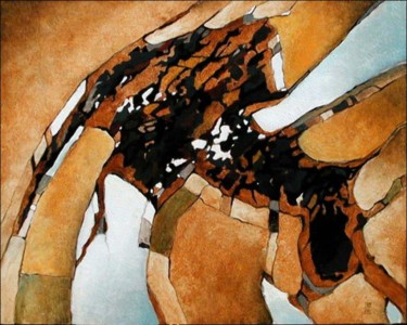 28.7x36.2x0.8 in ©2008 by Abstract Painter VIEVILLE