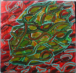 11x11 in ©1998 by Virginie Gallé