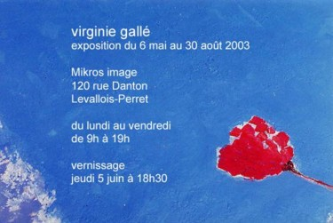 ©2003 by Virginie Gallé