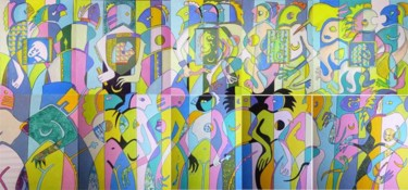 63x133.9 in ©2011 by Victor Valente