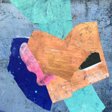 """Painting titled """"Composition 12x12""""…"""" by Olga Volna, Original Art, Collages"""