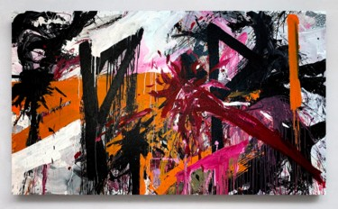 Abstract Painting, acrylic, expressionism, artwork by Viktoriia Dmytriv