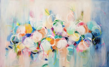 Painting, acrylic, abstract, artwork by Wioletta Gancarz