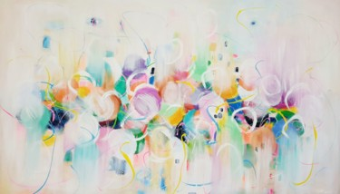 Color Painting, acrylic, abstract, artwork by Wioletta Gancarz