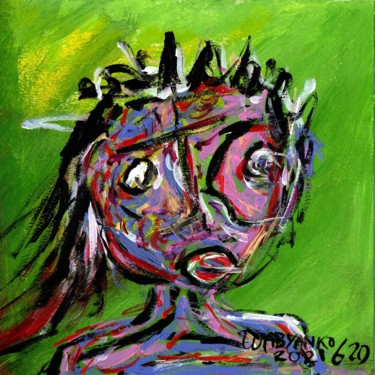"""Painting titled """"Abstract Portrait 6…"""" by Wabyanko, Original Art, Acrylic"""