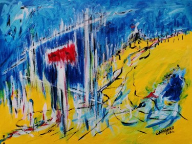 """Painting titled """"No Issue 02"""" by Wabyanko, Original Art, Acrylic"""