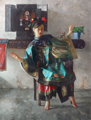 29.5x22.4x3.9 in ©2019 by Wang Ming Yue 王明月