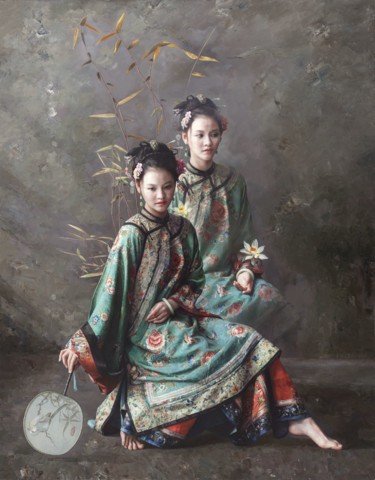 29.5x23.2x3.9 in ©2010 by Wang Ming Yue 王明月