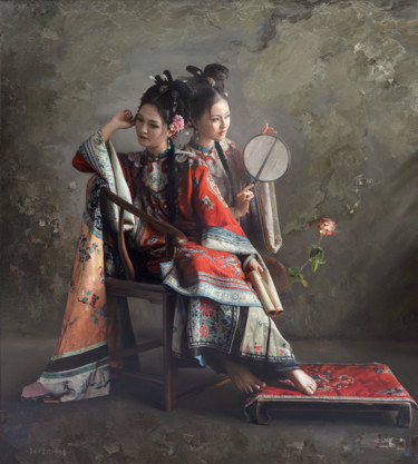 59x53 in ©2009 by Wang Ming Yue 王明月