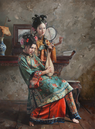 59x43 in ©2009 by Wang Ming Yue 王明月