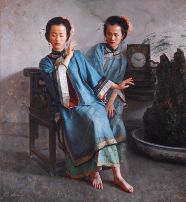 29.5x27.2x3.9 in ©2006 by Wang Ming Yue 王明月