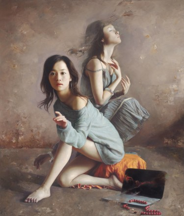 29.5x24.8x3.9 in ©2008 by Wang Ming Yue 王明月