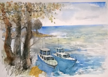 11.8x15.8 in © by Watercolorist Lorand Sipos