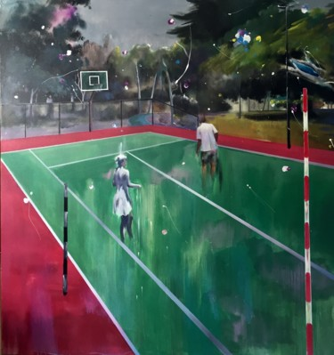 """Painting titled """"Lost stage3"""" by Weilong Chen, Original Art, Pigments"""