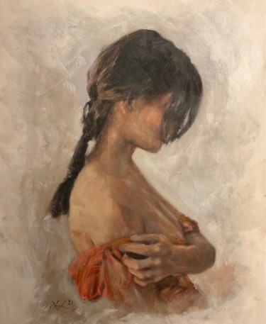 """Painting titled """"The Epiphany"""" by William Oxer F.R.S.A., Original Art, Acrylic"""