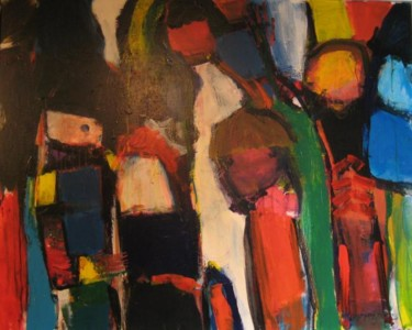 """Painting titled """"NEW ART"""" by Willy De Bever, Original Art,"""