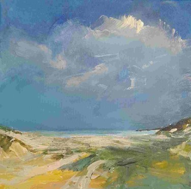 """Painting titled """"North Sea Coast ser…"""" by Wimvandewege, Original Art, Oil Mounted on Stretcher frame"""