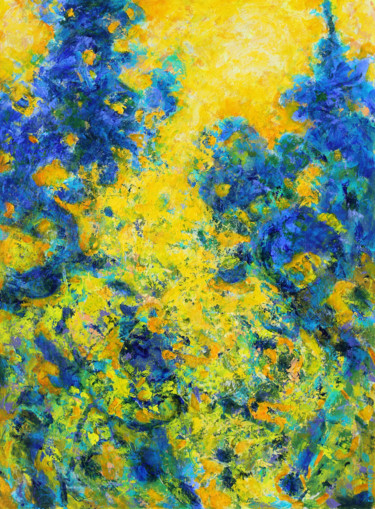 Abstract Painting, acrylic, abstract, artwork by Eric Winzenried