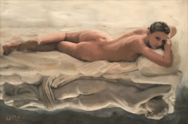 12x16x1 in ©2019 by William Oxer F.R.S.A.