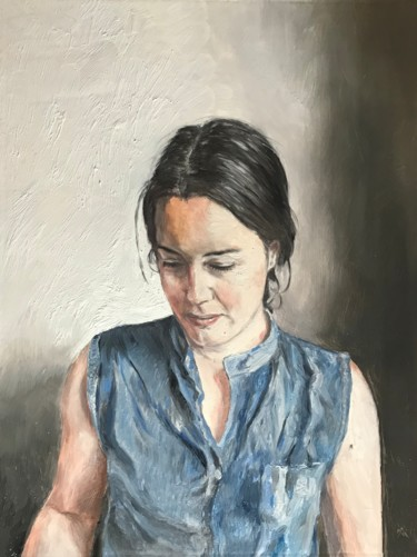 16x12x1 in ©2019 by William Oxer F.R.S.A.