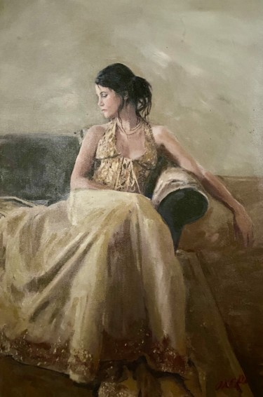 16x12x1 in ©2020 by William Oxer F.R.S.A.