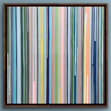 """Painting titled """"Light Difraction"""" by Xaro, Original Art, Acrylic Mounted on Stretcher frame"""