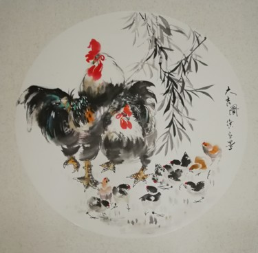 """Painting titled """"Xu Ping's Chinese P…"""" by Ping Xu 徐平, Original Art, Pigments"""