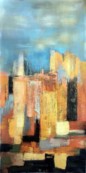 """Painting titled """"Abstract D03"""" by Yakir Zendo, Original Art, Acrylic"""